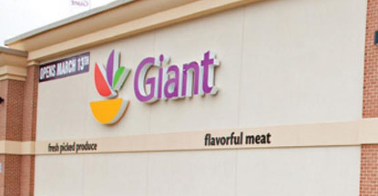 New and remodeled stores in the Stop amp Shop and GiantLandover chains last year began taking on a new look as part of parent Aholdrsquos mission to turn retail banners into powerful consumer brands
