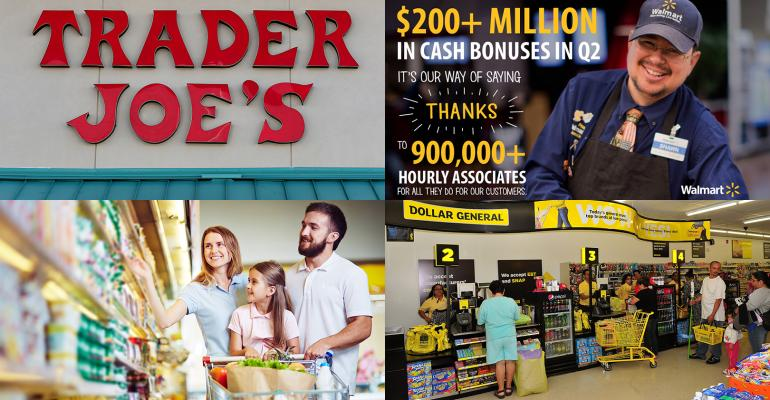 Gallery: Trader Joe's muscles in, Walmart pays bonuses and more trending stories