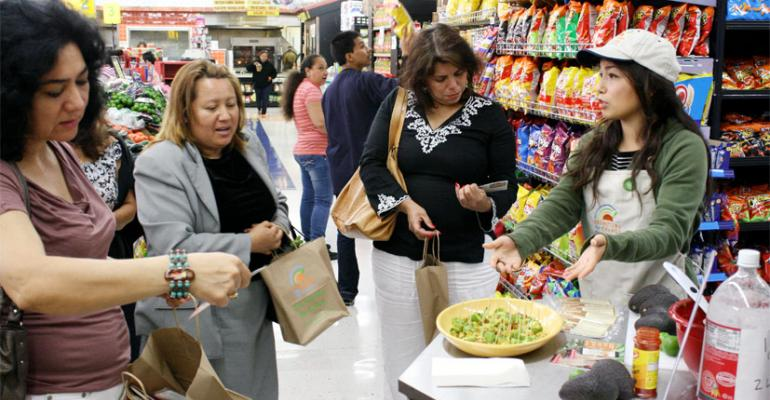 Gallery: California grocers pilot healthy cooking program