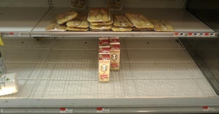 Mixed Bag: Sandy in Supermarkets