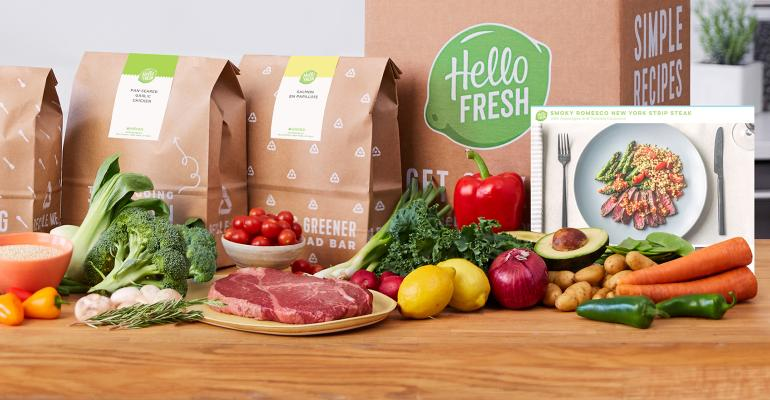 HelloFresh's bright start contrasts with Blue Apron struggles