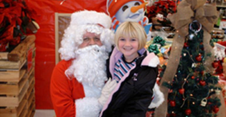 Santa Visits Food City, Promotes Healthy Eating