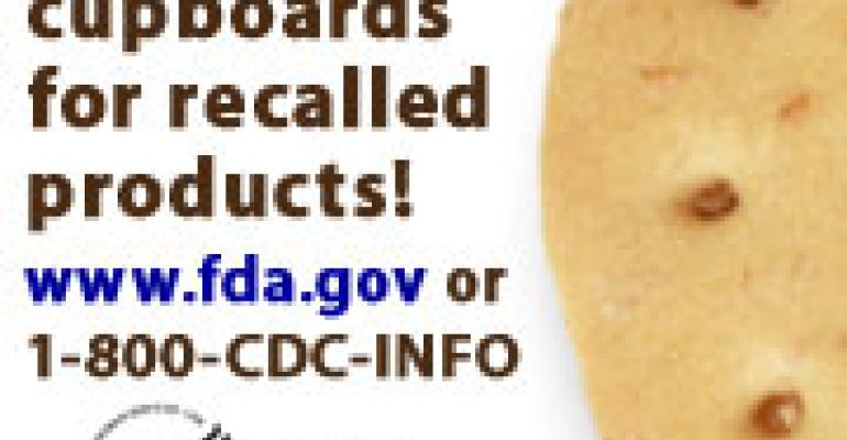CDC, FDA Encourage Consumers to Clear Pantries of Recalled Items