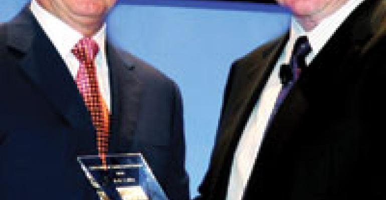 Lafley Wins Achievement Award