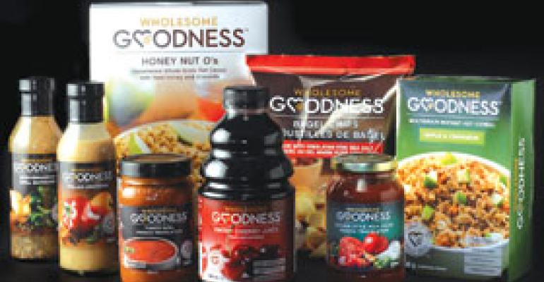 Wal-Mart's Wholesome Goodness Brand Positioned as Alternative
