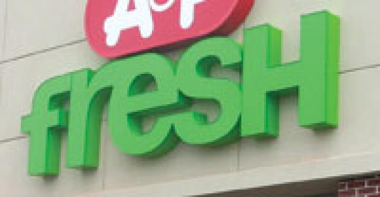 A&P Seeks to Sell 25 SuperFresh Stores
