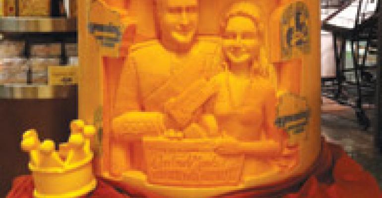 H-E-B Central Market Honors Royal Couple