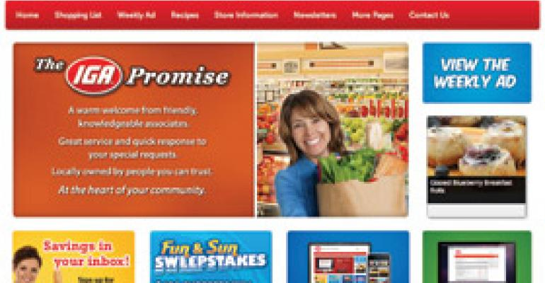 IGA Program Delivers Websites, Apps to Members