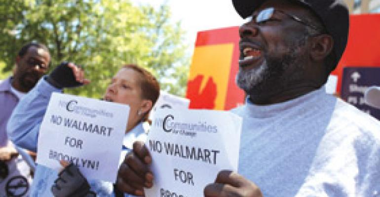 Pressures Face Wal-Mart in NYC