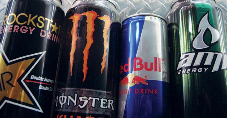 Energy Drinks Star in Beverage Category