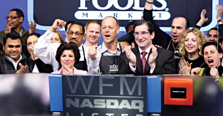 Whole Foods Leads Industry Stocks Again in 2011