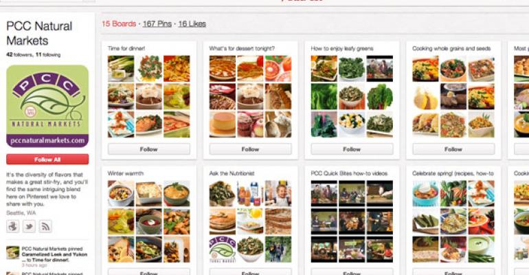 Pin Up: Pinterest a Hit for Foodies, Recipe Seekers