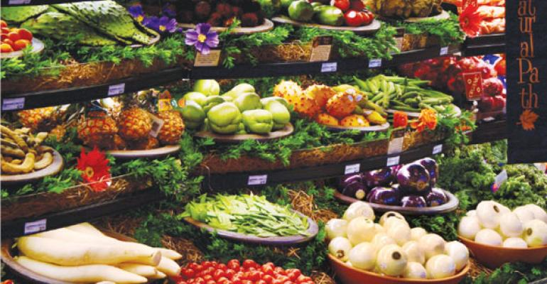 Produce Rules: Dazzling Displays, Healthful Benefits Draw Shoppers