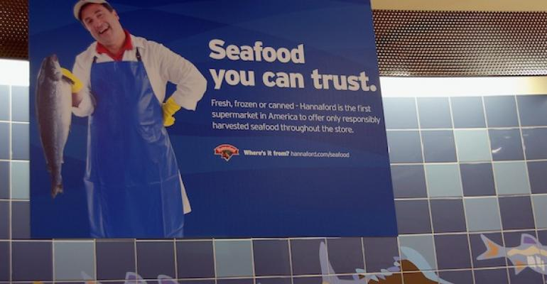 Hannaford Broadens Seafood Policy