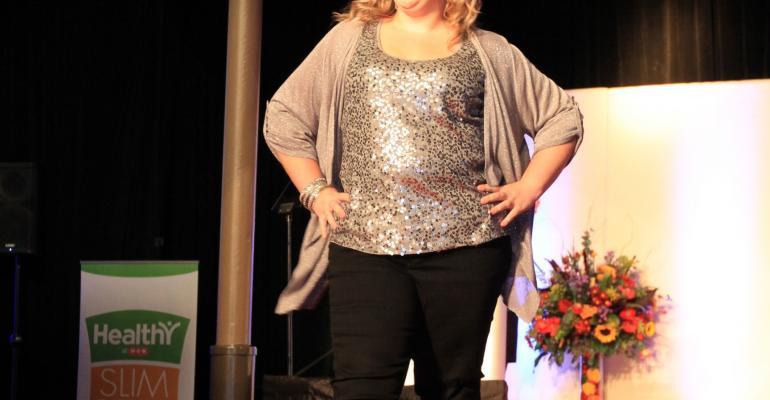 Community Slim Down Showdown winner Alison Spangler lost 48 pounds