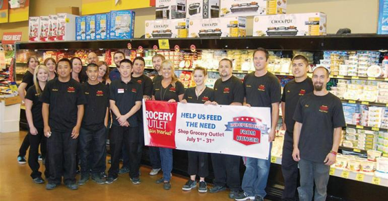 Grocery Outlet won for its Independence From Hunger effort