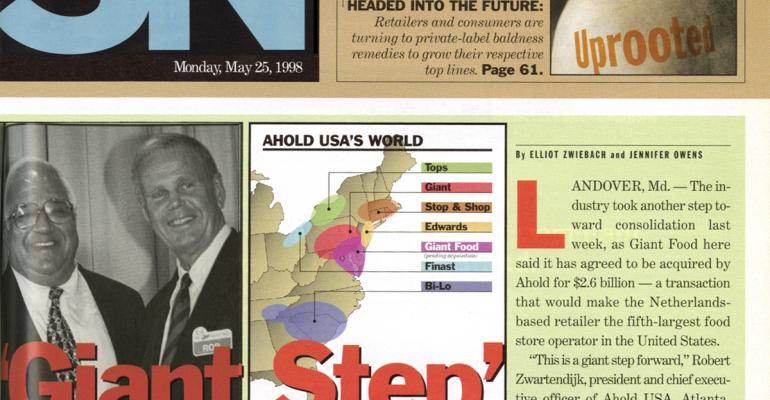 Timeline: 35 Years of Ahold in the USA