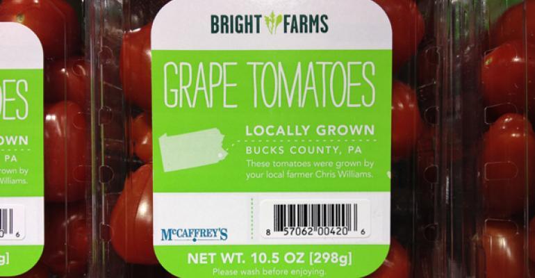 McCaffrey's Features BrightFarms Tomatoes