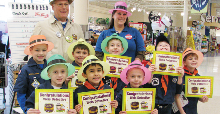 Weis' Mystery Tours Help Children Make Good Food Choices
