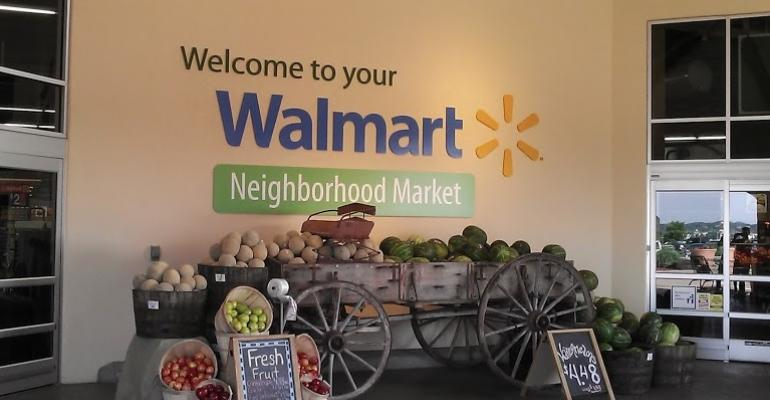 WalMart plans this year and next to open 80100 Neighborhood Markets like this one in Rogers Ark