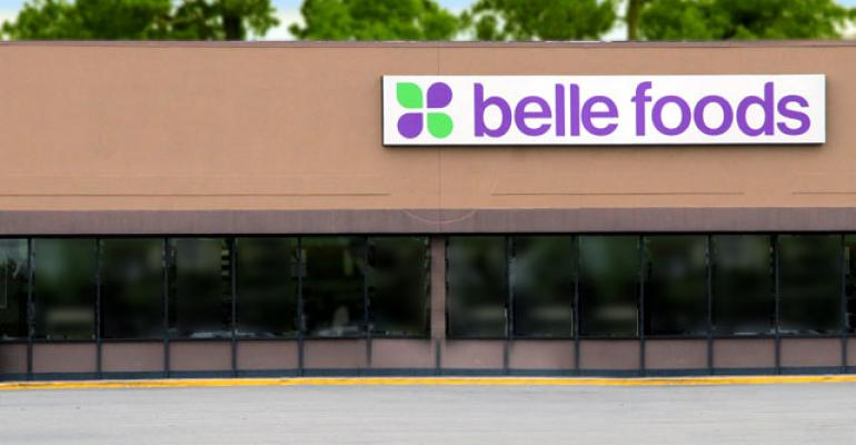 Belle Foods is scheduled to auction off its remaining 44 stores next month