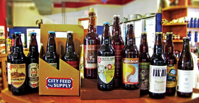 City Feed and Supply introduces local brews to beer enthusiasts as part of its craft beer share