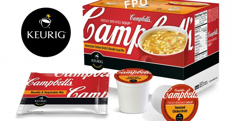 Keurig Systems to Brew Campbell Soup
