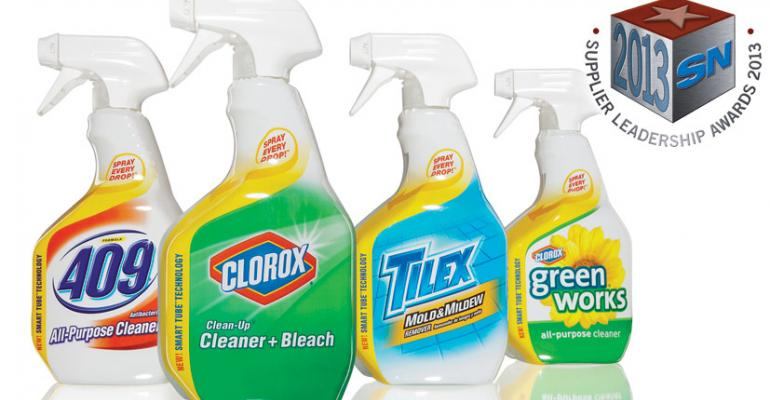 The Clorox Co.: 2013 Supplier Leadership Award Winner for Packaging Innovation