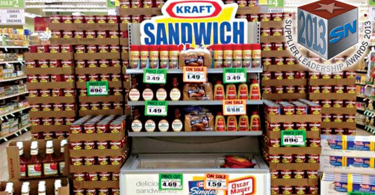 Kraft Foods: 2013 Supplier Leadership Award Winner for Support for Small Chains/Independents