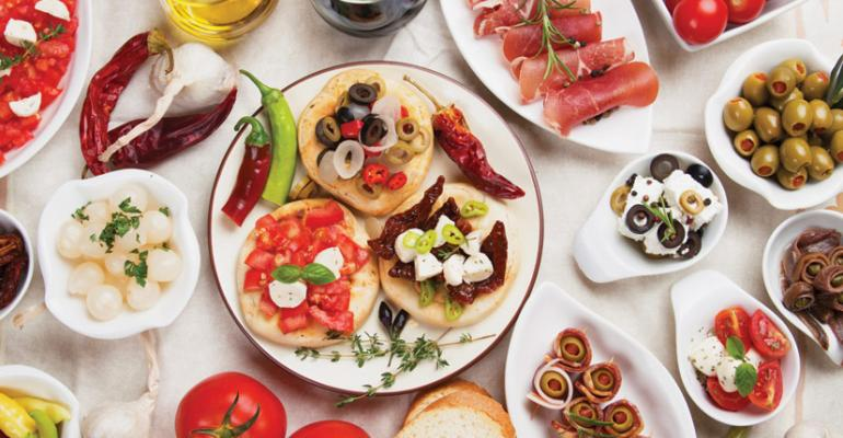 Food futurists say the growing taste for Mediterranean flavors is one of the top dining trends for 2014