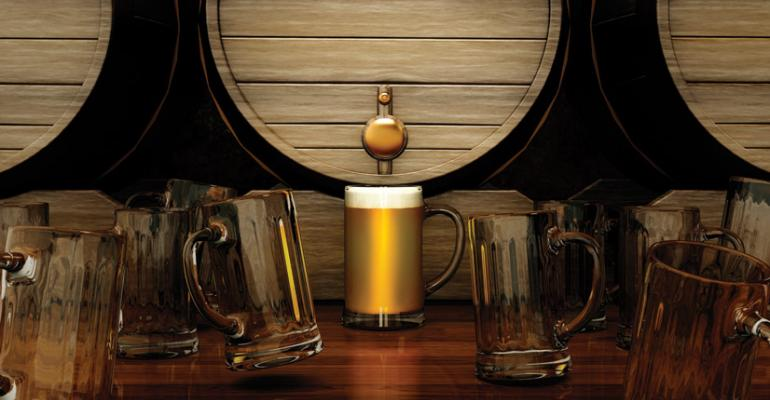 Barrel-aged beer is back