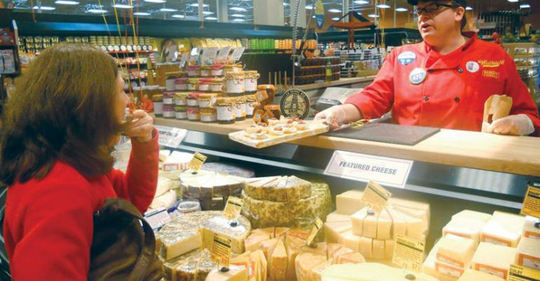Specialty retailer Murrayrsquos Cheese will open its 100th store in partnership with Kroger this month