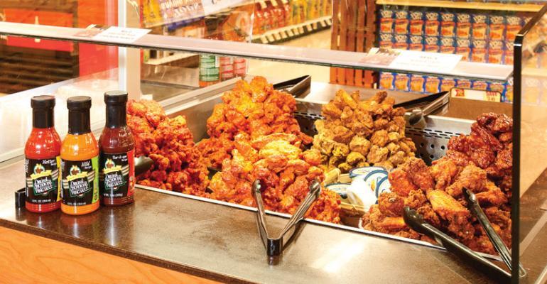Tops freshens prepared foods program