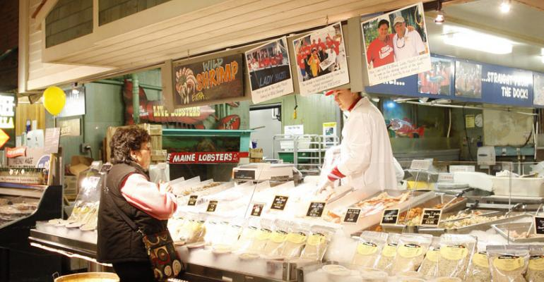 Served up: Wooing reluctant seafood shoppers