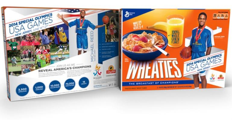 ShopRite employee featured on Wheaties box
