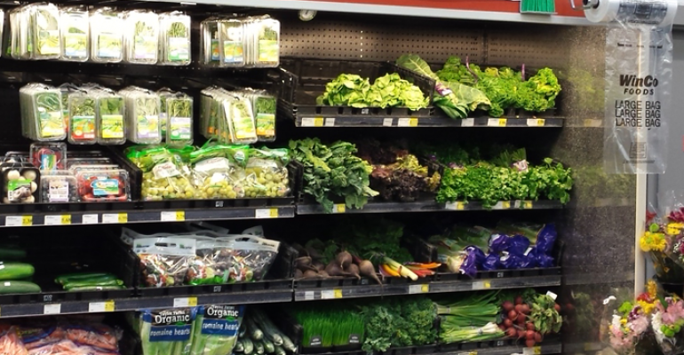 WinCo tests organic produce section