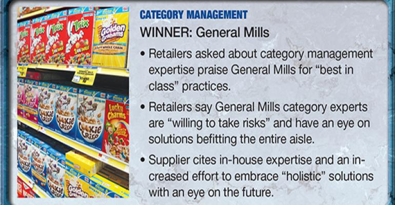General Mills: 2014 Supplier Leadership Award winner for Category Management