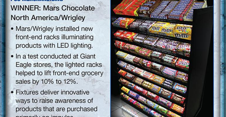 Mars Chocolate North America/Wrigley: 2014 Supplier Leadership Award winner for POS Merchandising