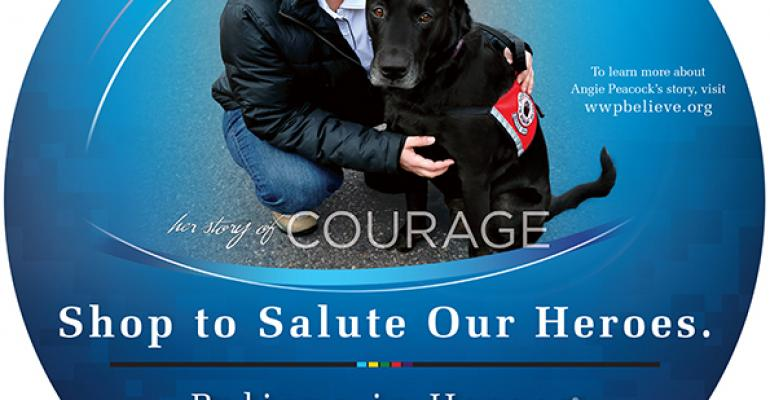 Retailers support Wounded Warrior Project
