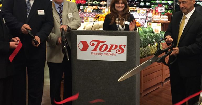 Tops unveils 2 renovations