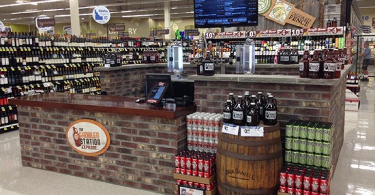 Retailers tap into growler business