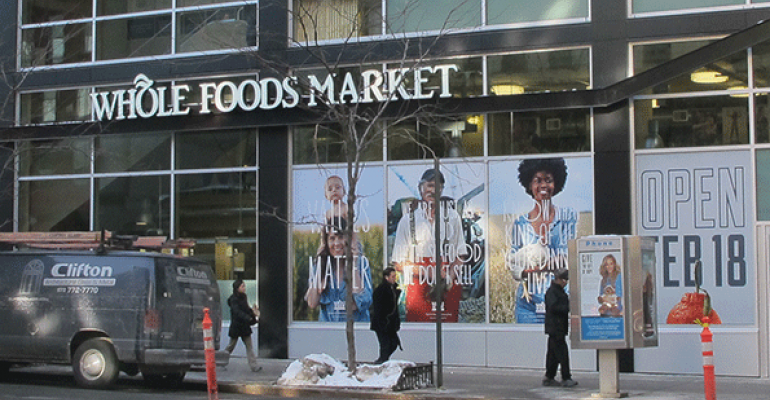 Whole Foods takes on high-volume Fairway