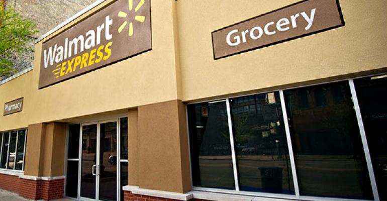 Is the Walmart 'Express' derailing?