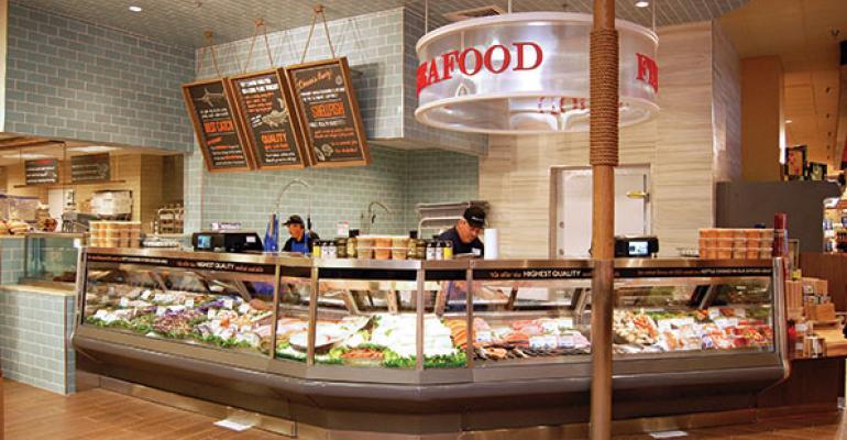 Catching on: Cross-merchandising seafood