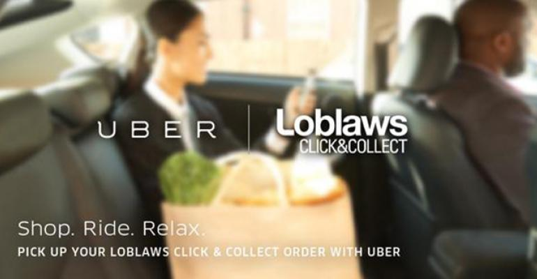 Loblaw, Uber in click & collect deal