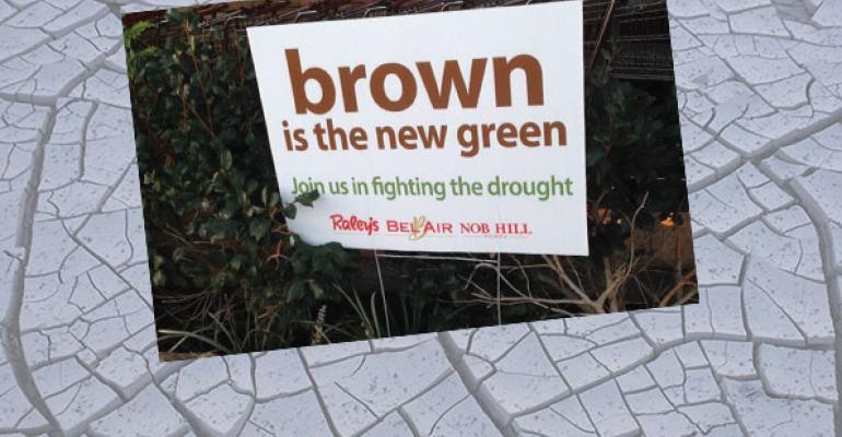 California retailers enact drought measures