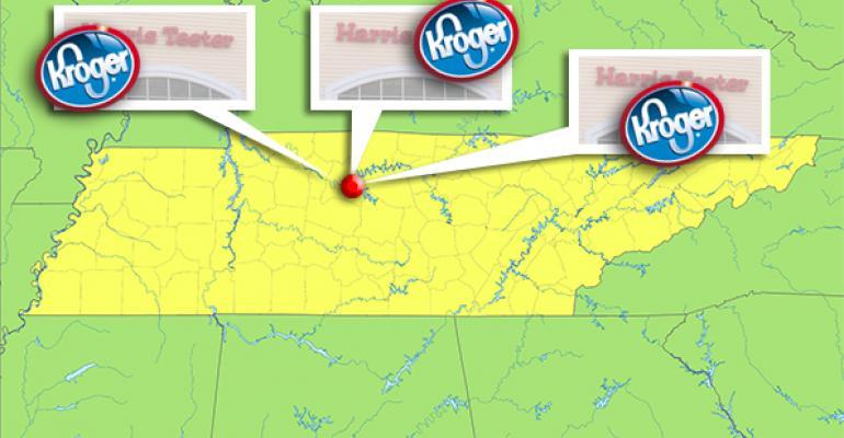 Kroger to take 3 sites as Harris Teeter exits Nashville
