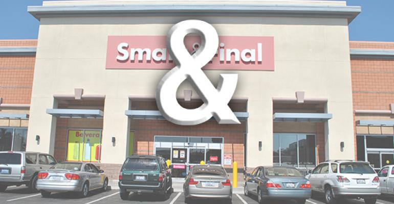 Smart & Final to emphasize the ampersand