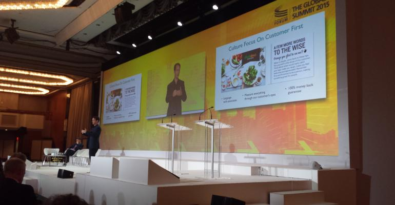 FreshDirect founder and CEO Jason Ackerman at the Consumer Goods Forum39s Global Summit