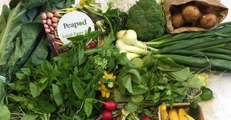 Peapod launches CSA
